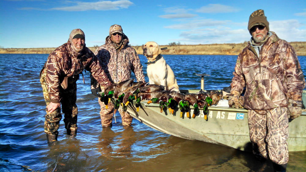 Ft Peck Waterfowl Hunts