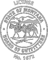 MT Outfitter License No. 1672